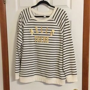 "NWOT Old Navy ""Hello There"" Sweatshirt"